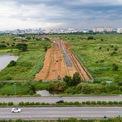 <p> Dự án được UBND TP.HCM chấp thuận chủ trương đầu tư cho Công ty TNHH Thương mại Xây dựng Sản xuất Thiên Hải cùng các công ty liên doanh khác thực hiện dự án trên khu đất có tổng diện tích 120 ha nằm trên địa bàn phường An Phú vào tháng 1/1999.</p>