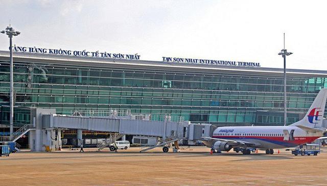 Cảng hàng không quốc tế Tân Sơn Nhất. Ảnh: ACV