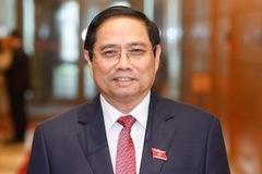 Ông Phạm Minh Chính tái đắc cử Thủ tướng