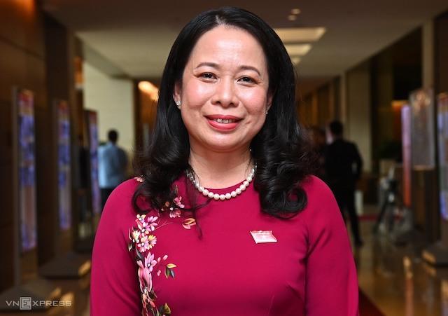Bà Võ Thị Ánh Xuân là Phó Chủ tịch nước trẻ tuổi nhất khi nhậm chức