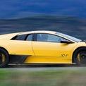 """<p class=""""Normal""""> <strong>4. Lamborghini Murciélago LP 670-4 SuperVeloce</strong></p> <p class=""""Normal""""> 670-4 SuperVeloce sở hữu động cơ V12 6,5L mạnh mẽ bên dưới mui xe với công suất 670 mã lực kết hợp khung gầm được cải tiến để tăng độ cứng. Đây là một chiếc xe có khả năng xử lý đặc biệt, với tốc độ vượt trội, khiến nó trở thành một trong những cỗ máy ngoạn mục nhất của thương hiệu mang biệt danh """"bò tót"""" cho đến nay.</p>"""