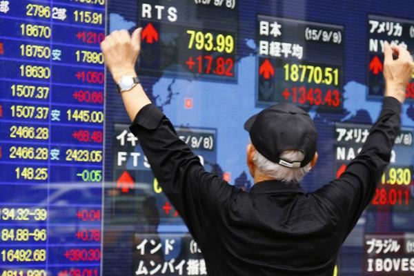 Chứng khoán châu Á trái chiều, Hang Seng 'bốc hơi' hơn 8% trong hai phiên