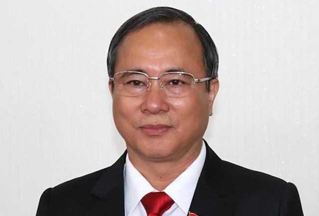 Cựu Bí thư Trần Văn Nam.