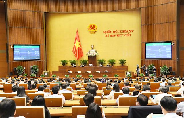 Quốc hội giao chỉ tiêu tăng trưởng GDP bình quân 6,5-7% giai đoạn 2021-2025