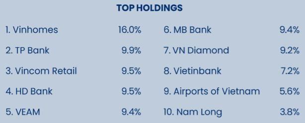 Top 10 cổ phiếu lớn nhất danh mục Pyn Elite Fund trong tháng 6