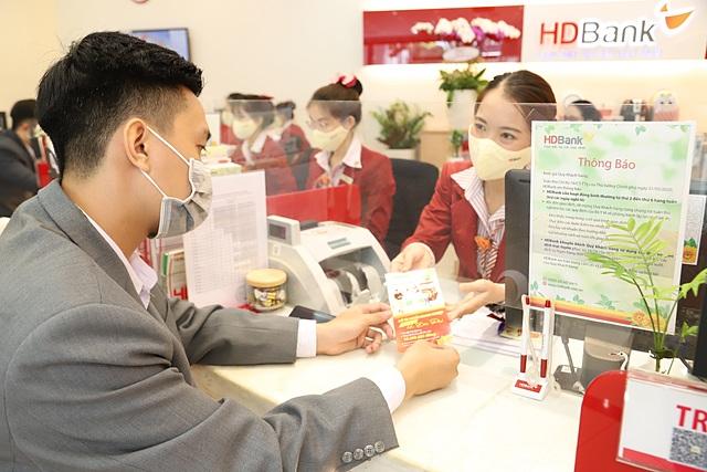 HDBank chốt quyền nhận cổ tức. Ảnh: HDBank.