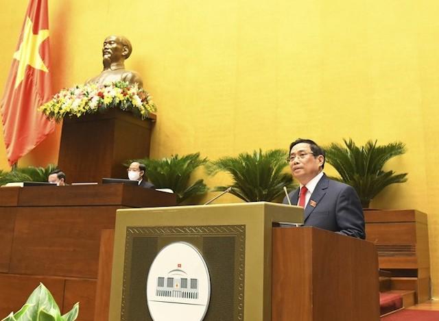 Ngày 26/7, Thủ tướng Chính phủ Phạm Minh Chính đã trình Quốc hội xem xét cơ cấu số lượng thành viên Chính phủ.