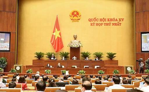 Thông qua cơ cấu Chính phủ gồm 27 thành viên, có 4 Phó Thủ tướng, 18 bộ trưởng