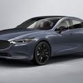 """<p class=""""Normal""""> <strong>Mazda 6</strong></p> <p class=""""Normal""""> Đối thủ cạnh tranh với Honda Accord và Hyundai Sonata trong phân khúc sedan gia đình sẽ tạm nghỉ bán. Chiếc xe được trang bị động cơ cơ sở 187 mã lực đã mang lại con số ấn tượng 0,06 l/km trong bài kiểm tra tiết kiệm nhiên liệu trên đường cao tốc.</p> <p class=""""Normal""""> Bên cạnh đó, chiếc sedan còn có phiên bản tùy chọn động cơ tăng áp 250 mã lực, nhưng vẫn đứng sau Accord Touring và Sonata N Line về hiệu suất. Nếu Mazda 6 trở lại, nó có thể sẽ sử dụng động cơ sáu xi-lanh thẳng hàng kết hợp hệ thống hybrid 48 vôn và hệ dẫn động cầu sau.</p>"""