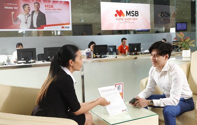 Thu nhập dịch vụ đột biến, MSB báo lãi quý II tăng gần 2 lần