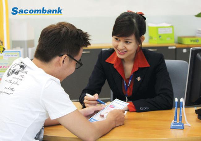Lãi quý II Sacombank tăng 2 lần, khoản phải thu giảm