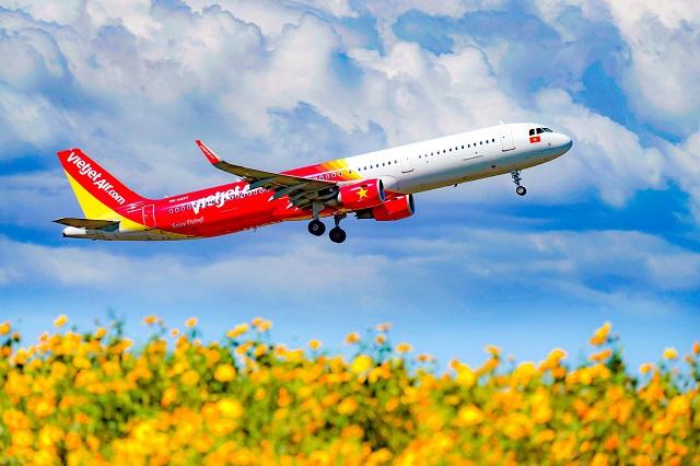 Trong quý II/2021, Vietjet đạt doanh thu vận tải hàng không tăng 51% so với cùng kỳ (ảnh: Tài Nguyên)