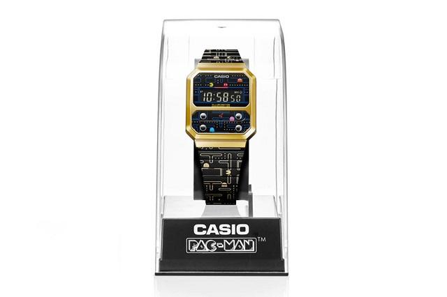 Casio hợp tác với 'Pac-Man' ra mắt đồng hồ kỹ thuật số phong cách cổ điển