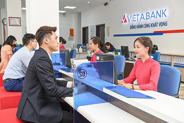Lợi nhuận VietABank tăng một phần nhờ không còn trích lập trái phiếu VAMC. Ảnh: VAB.