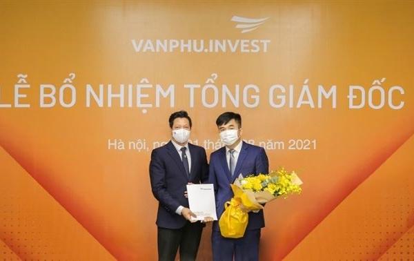 Văn Phú - Invest có Tổng giám đốc mới