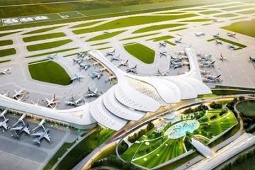 Sẽ san nền xây dựng sân bay Long Thành trong tháng 10