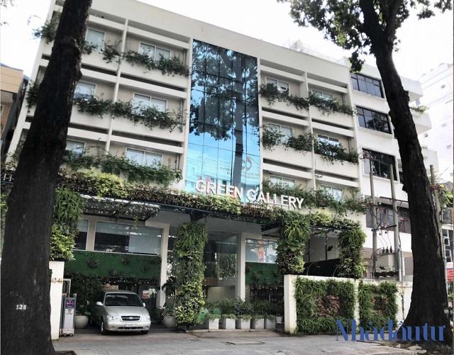 Khu đất 42-44 Mạc Đĩnh Chi, hiện đang là trung tâm hội nghị Green Gallery của Phúc Khang Corp. Ảnh: NHÂN TÂM.