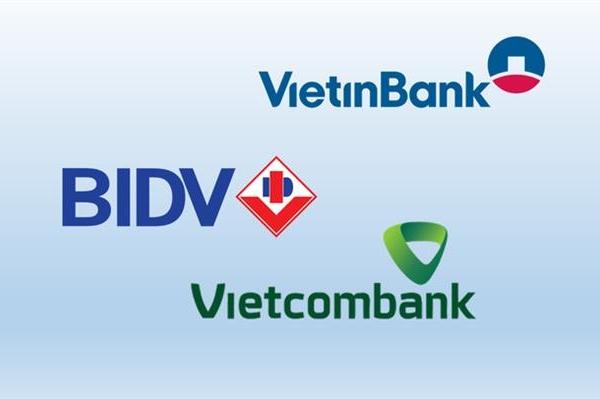 Ba ngân hàng quốc doanh tích cực dự phòng