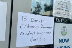 Nhà hàng Việt ở Mỹ từ chối khách chưa tiêm vaccine