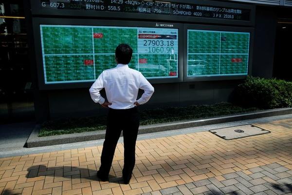 Lo sợ Covid-19, khối ngoại bán ròng cổ phiếu châu Á