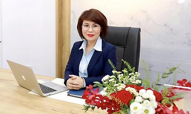 Bà Dương Thị Lệ Hà, quyền Tổng giám đốc NCB. Ảnh:NCB.