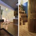"""<p class=""""Normal""""> Các kiến trúc sư của MON Atelier Architecture đã thiết kế theo phong cách hướng nội, mặt tiền của ngôi nhà được cải tạo lại để tiết chế ánh sáng từ hướng Đông.</p>"""