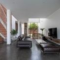 <p> Do có lợi thế về mặt diện tích, nhà dành nhiều diện tích làm nơi sinh hoạt chung.</p>