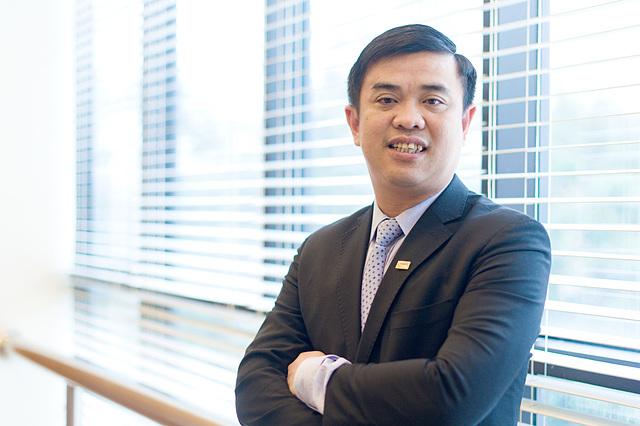 Ông Nguyễn Văn Lê, nguyên Tổng giám đốc SHB. Ảnh: SHB.