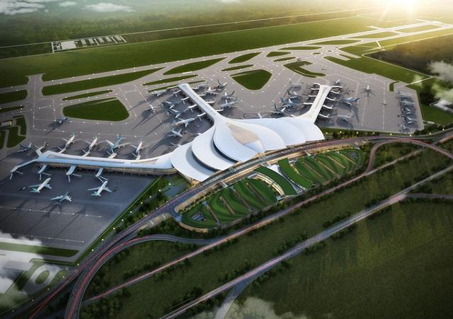 [Caption]Phối cảnh sân bay Long Thành. Ảnh: Người lao động