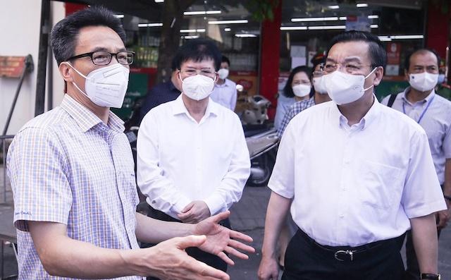 Phó thủ tướng Vũ Đức Đam nhắc Hà Nội cần có phương án chuẩn bị bệnh viện đa khoa (có khoa hồi sức cấp cứu tốt) chuyên điều trị bệnh nhân mắc Covid-19.