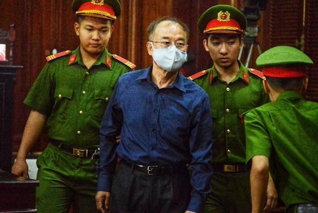 Bị cáo Nguyễn Thành Tài tại phiên tòa.