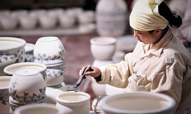 Kim ngạch xuất khẩu gốm sứ mỹ nghệ tăng 52% so với cùng kỳ 2020