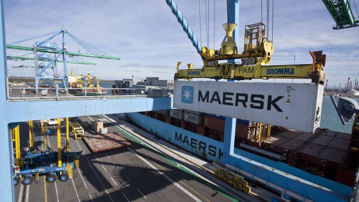 Hãng vận tải biển lớn nhất thế giới quý II lãi tăng 200%