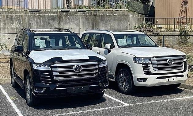 Số VIN trên Toyota Land Cruiser đời mới thiết kế đặc biệt để... chống trộm