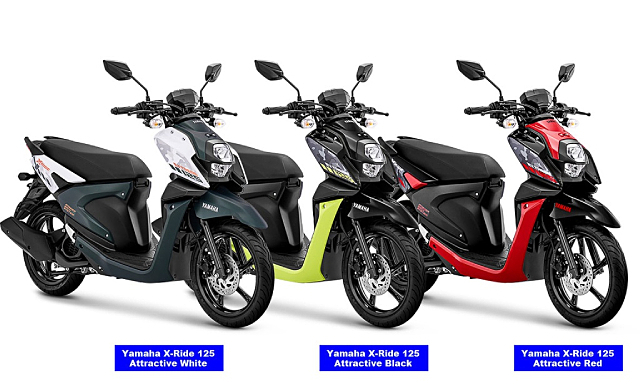 Xe tay ga thể thao Yamaha XRide 125 rục rịch về Việt Nam