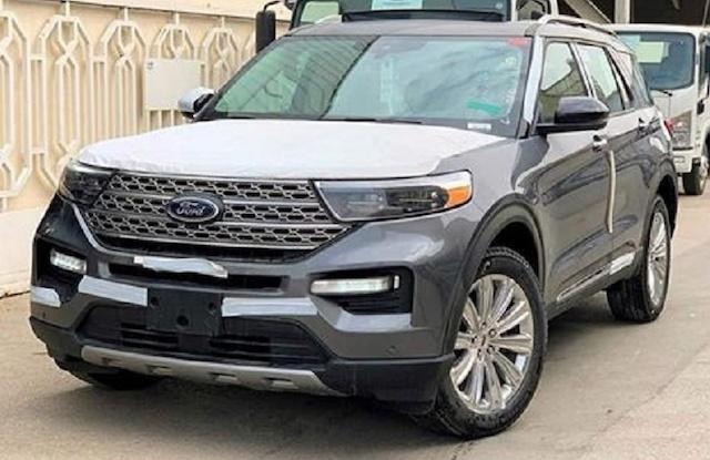 Ford Explorer 2021 chính hãng về Việt Nam có giá trên 2 tỷ đồng