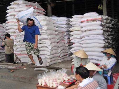 Xuất khẩu gạo 'tê liệt' do đứt gãy chuỗi cung ứng