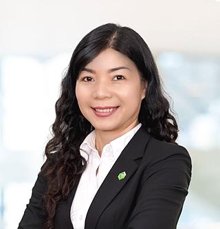 Bà Hoàng Thu Châu - Thành viên HĐQT kiêm Phó Tổng Giám đốc Tài chính Kế toán Tập đoàn Novaland.
