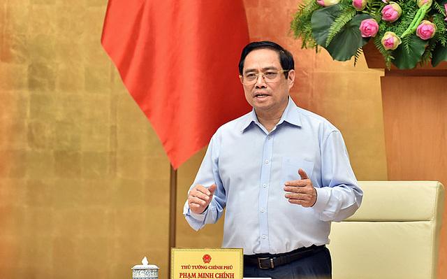 Thủ tướng Phạm Minh Chính. Ảnh: Chính Phủ.