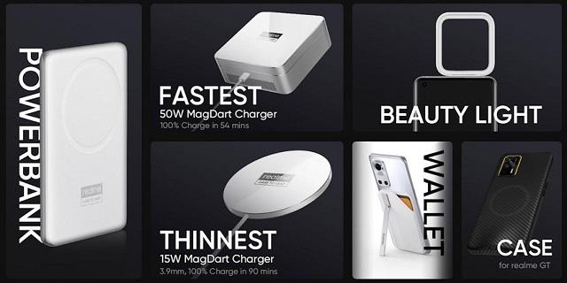 Realme công bố sạc từ tính MagDart của mình có công suất lớn hơn MagSafe của Apple. Ảnh: Realme.