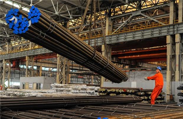 Sản xuất thép tại Trung Quốc. (Nguồn: China Daily)