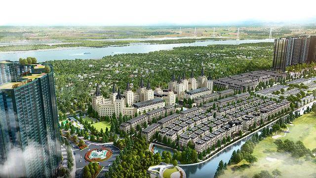 Sunshine Homes xây dựng bất động sản hạng sang tại Hà Nội. Ảnh: SSH