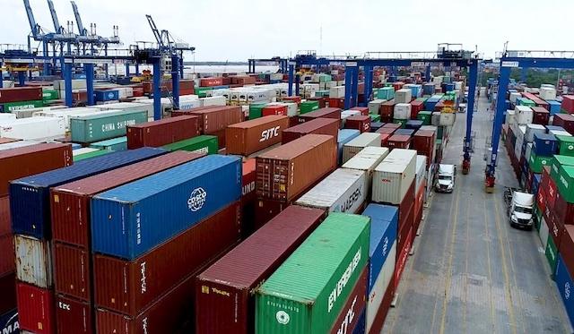 Cục Hàng hải: Lượng hàng tồn tại cảng Cát Lái đã về mức an toàn.