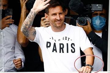 Messi đeo đồng hồ Rolex phiên bản đặc biệt trong ngày đến PSG