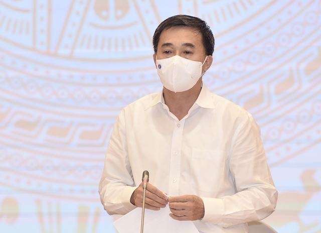 Thứ trưởng Y tế Trần Văn Thuấn. Ảnh: Báo Chính phủ.