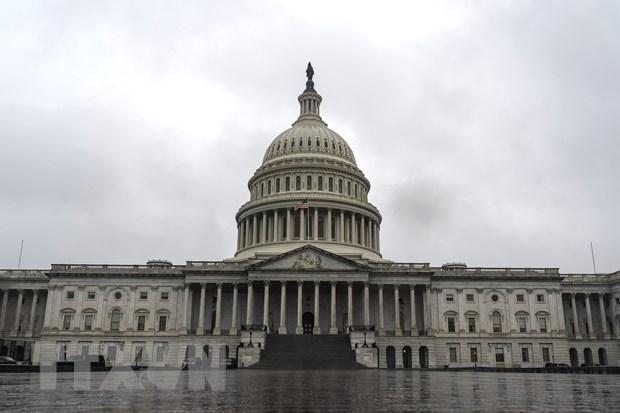 Tòa nhà Quốc hội Mỹ tại Washington, DC. (Ảnh: AFP/TTXVN)