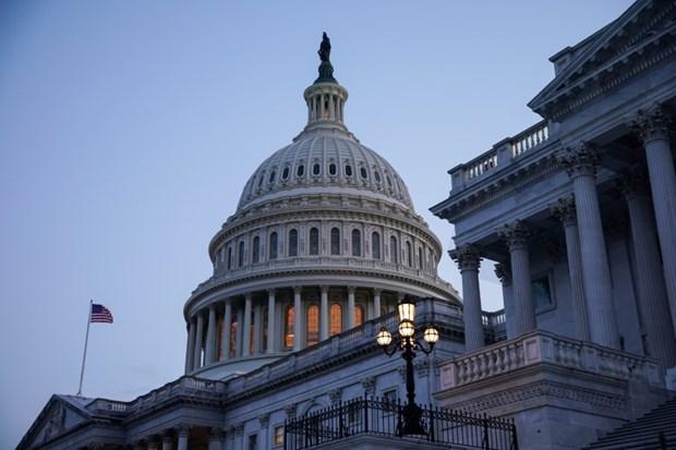 Bên ngoài tòa nhà Quốc hội Mỹ tại Washington, DC. (Nguồn: Reuters)