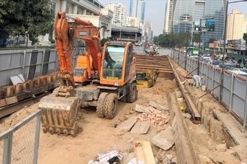 Nguy cơ vỡ tiến độ các dự án giao thông Hà Nội