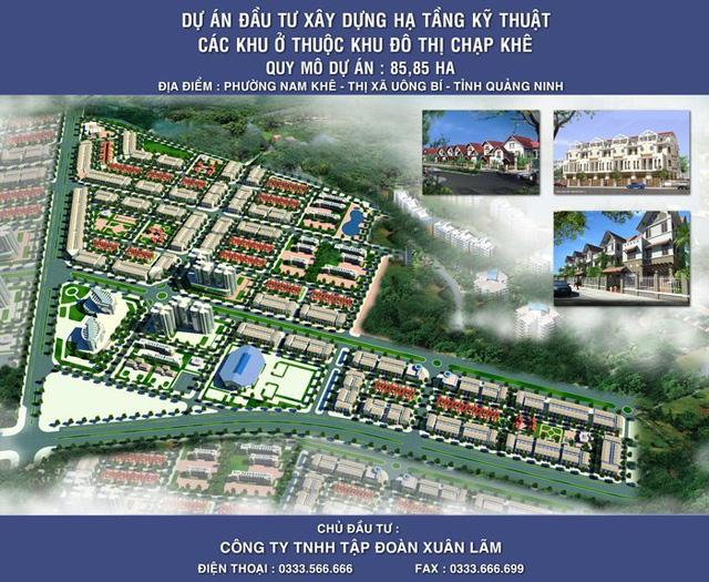 Ngân hàng rao bán nợ của đại gia bất động sản Quảng Ninh - Ảnh 1.