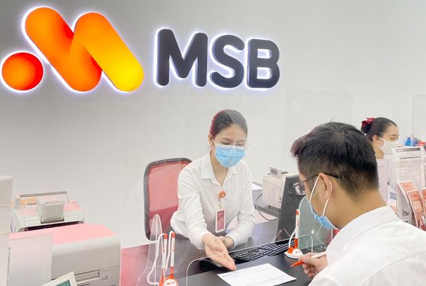 MSB kỳ vọng đạt được mục tiêu tăng trưởng tín dụng 25% trong năm nay. Ảnh: MSB